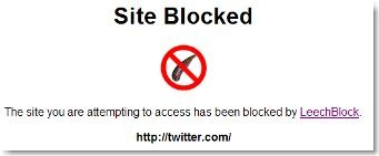leechblock twitter