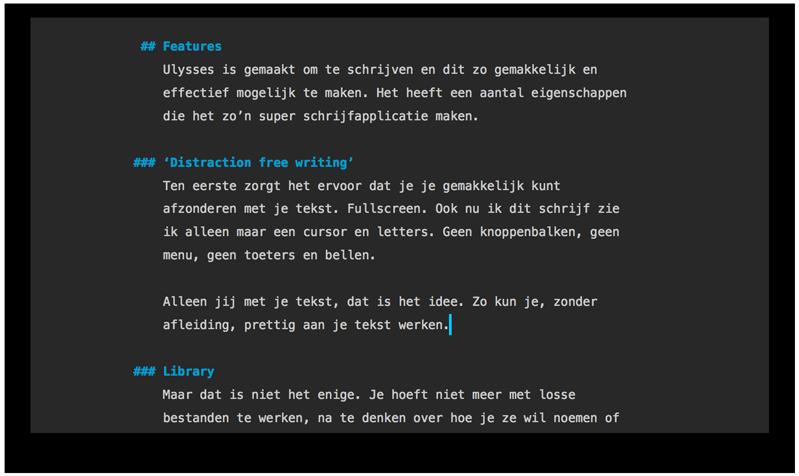 Screenshot schrijven