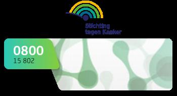 Stichting tegen Kanker gebruikt een 0800-nummer.