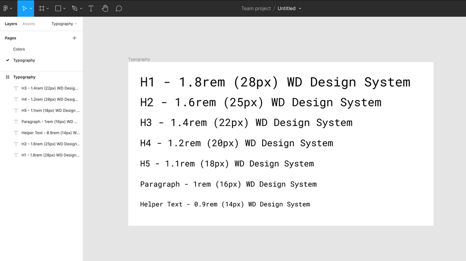 Welcome, Developer - Figma Typography