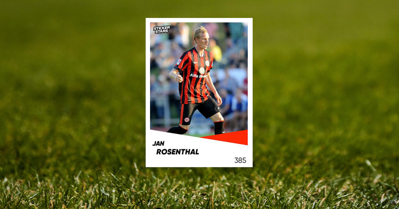 Jan Rosenthal Sticker Eintracht Frankfurt