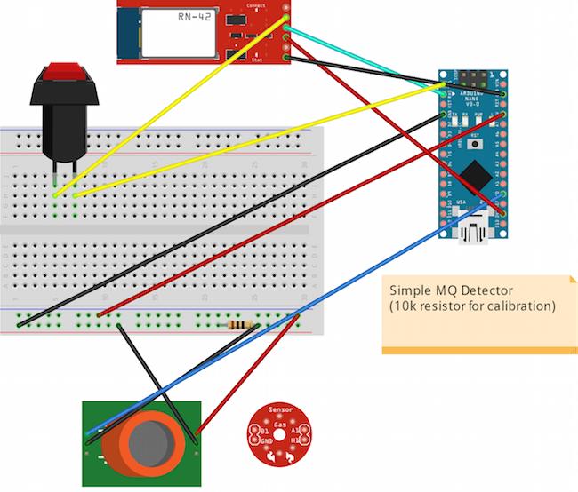 Arduino circuit schematic