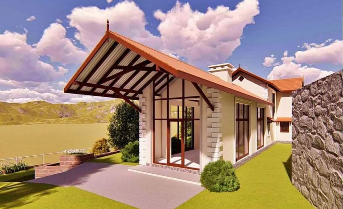Mahika house at Hillsborough render