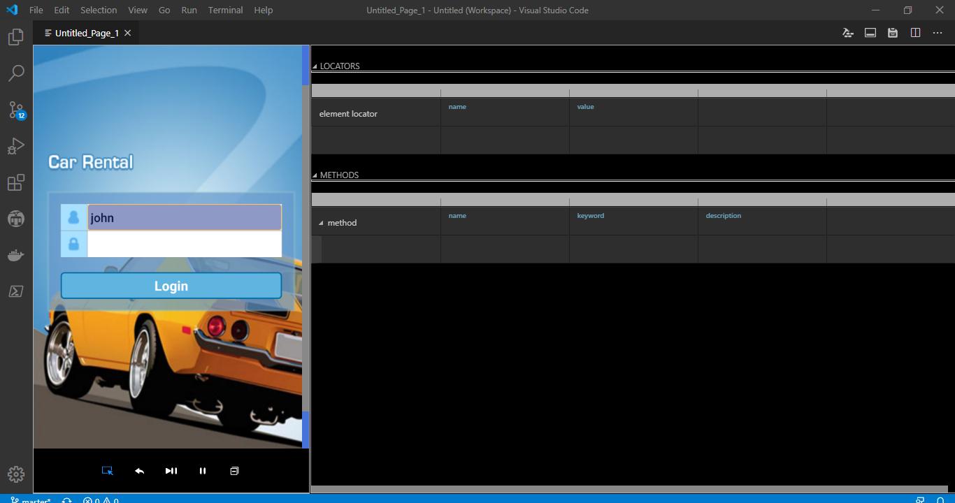 Start Device Live Screen