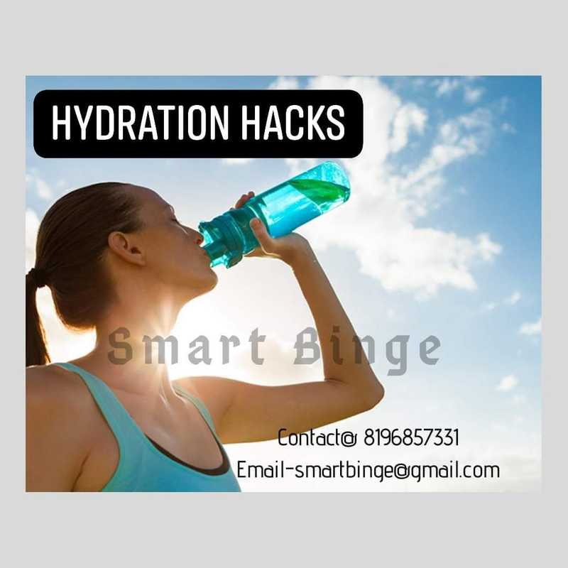 Girl drinking water after a jog