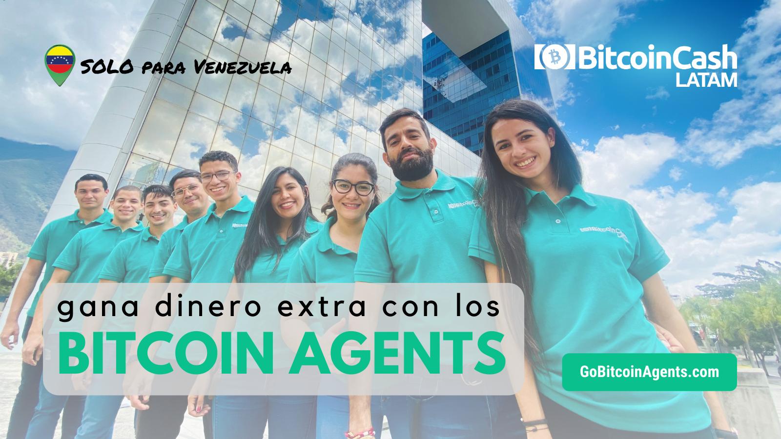 Gana dinero extra con Bitcoin Agents Venezuela