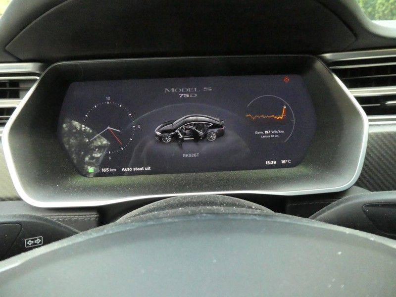 Tesla Model S 75D Base, Prijs is !! EX BTW !! afbeelding 11