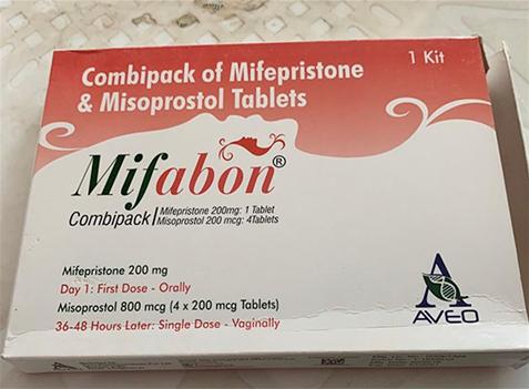 Mifabon Combipack Abortion Pill