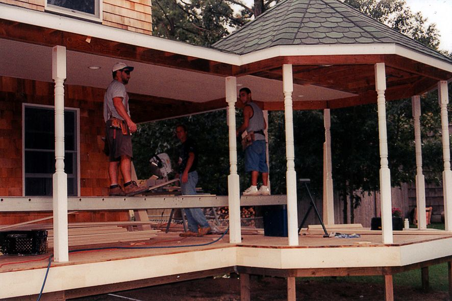 Deck Blakewood Construction 04