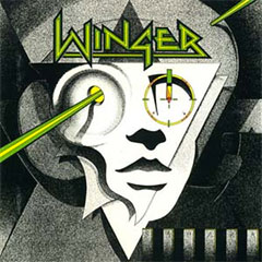 Winger's Self-Titled debut album cover
