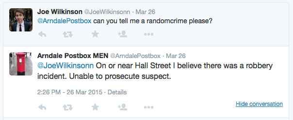 Random crime