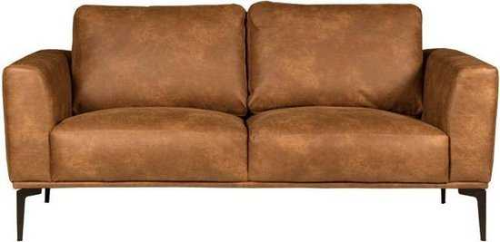 Homingxl Bank Tulp 2zits Leer Colorado Cognac 03 1 75 Mtr Breed 550x267 175x82 cm