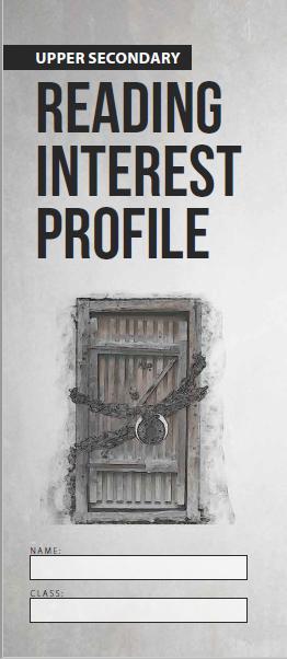 Reading Interest Profile Lower Sec image