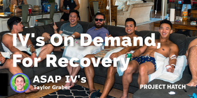featured image thumbnail for post IV's on Demand for Hangovers, Vitamins and Recovery
