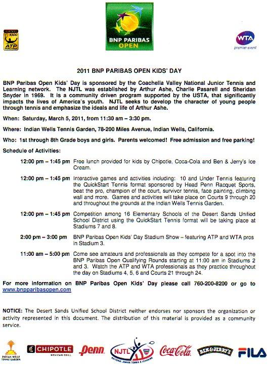BNP Paribas Kids' Day