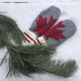 Canadiana Eco Cotton Mitten