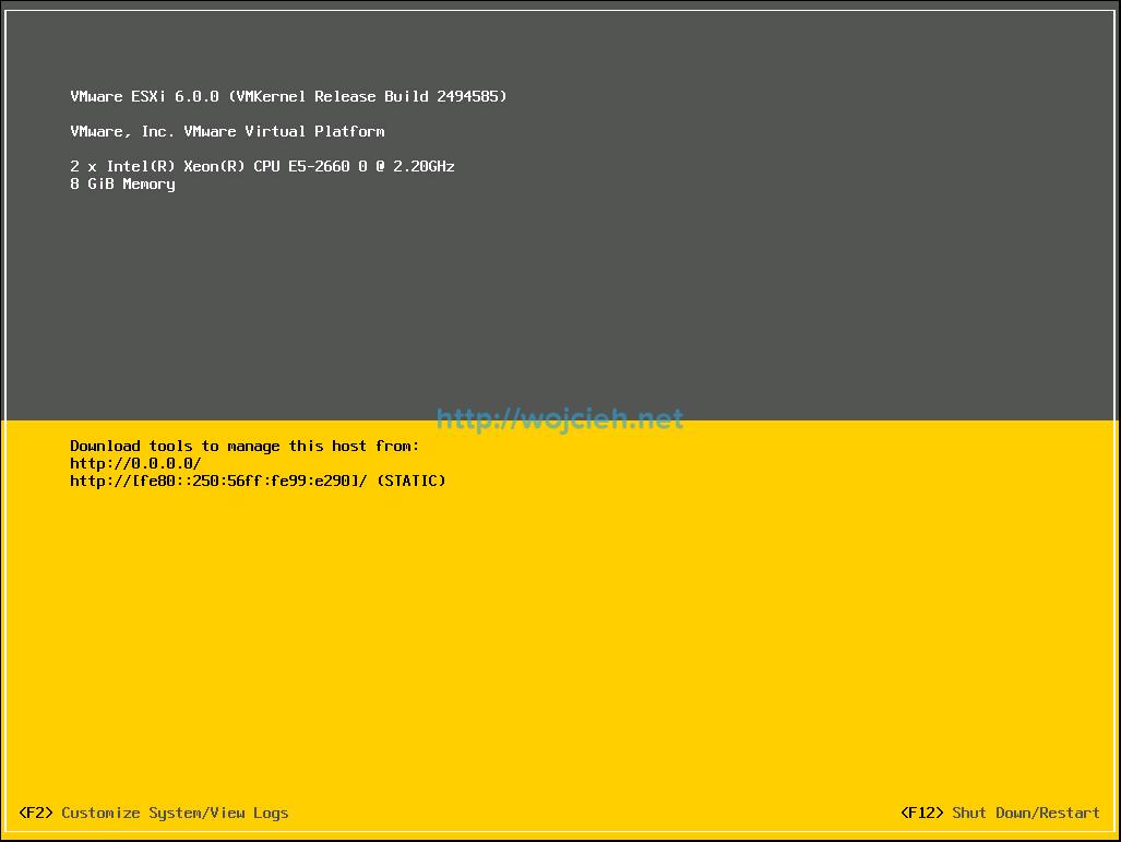 Nested ESXi 6.0 installation - 11