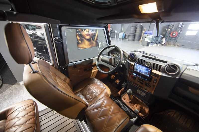 Land Rover Defender 2.4 TD 110 SW SE 7-zits Extreem compleet! afbeelding 10