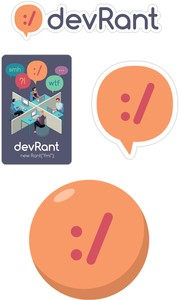 devRant swag you can get
