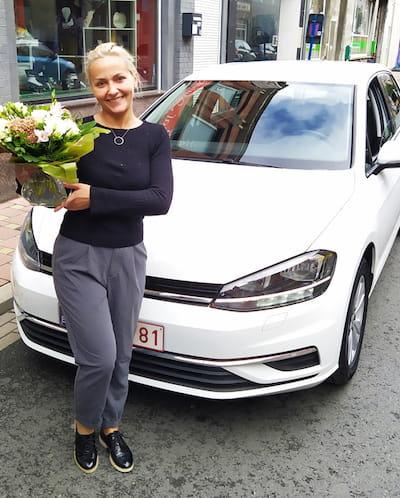 client leasing car