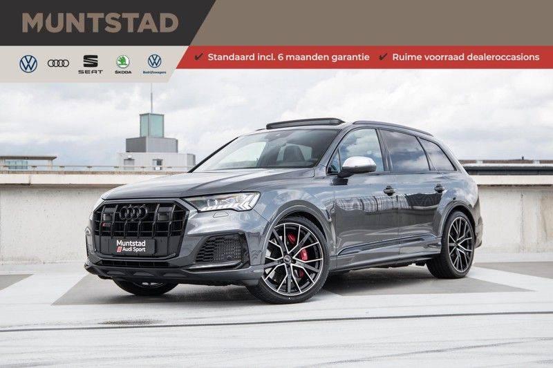 Audi SQ7 4.0 TFSI SQ7 quattro 7p 507PK | S-Line | Pano.Dak | 360 Camera | B&O Sound | Keyless-Entry | S-Sportstoelen | Assistentie Tour-City-Parking | 7 Persoons afbeelding 1