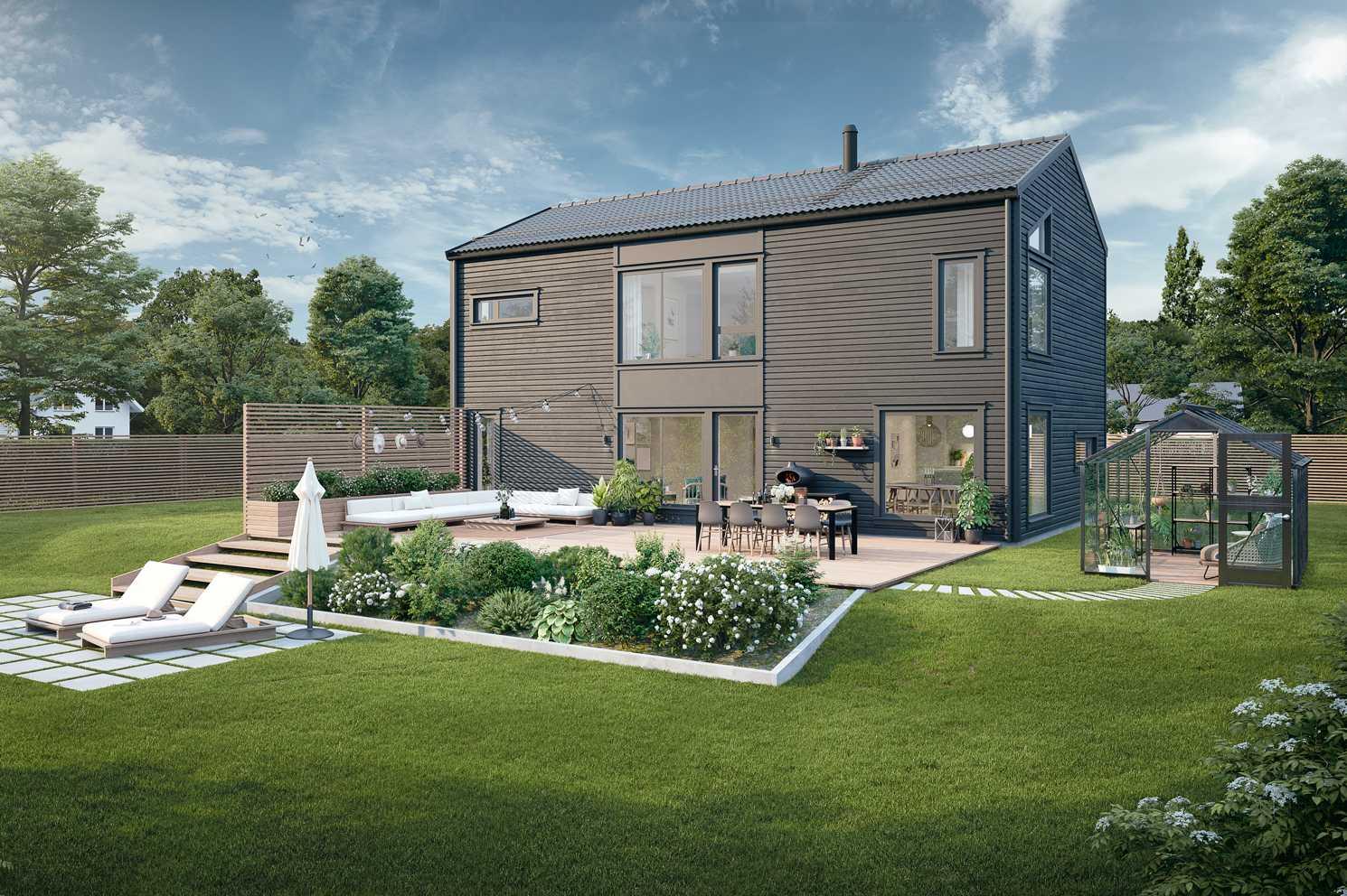Slik bygger du ditt drømmehjem for en rimelig pris - Nelly et rimelig hus