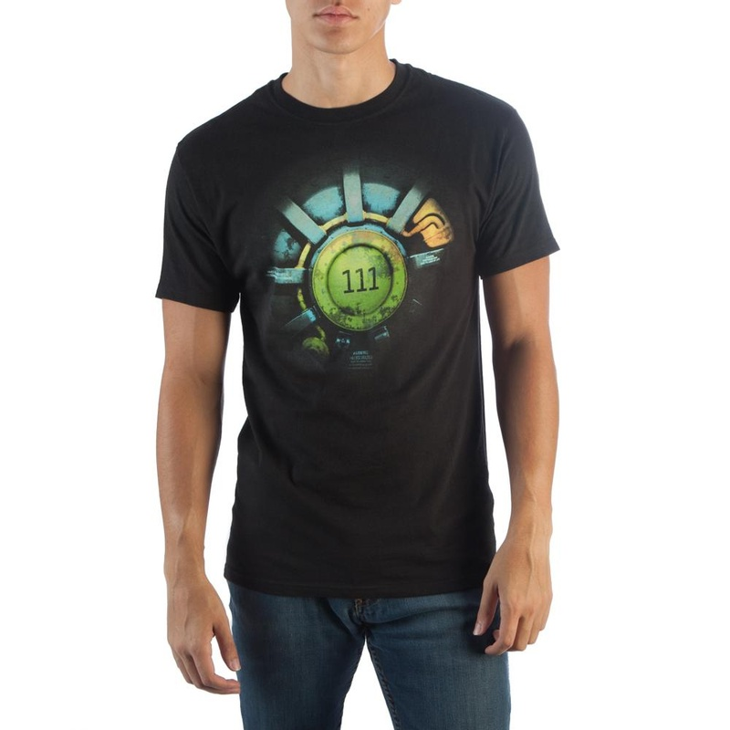 Fallout 111 Black T-Shirt Wear