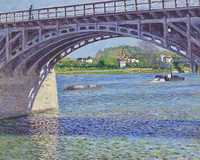 Caillebotte's Le pont d'Argenteuil et la Seine was sold by Christie's New York for just over $18 million in November 2011.