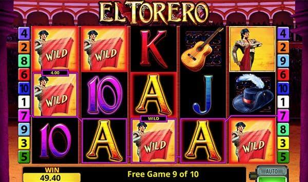 el torero merkur slot wild feature und viele toreros