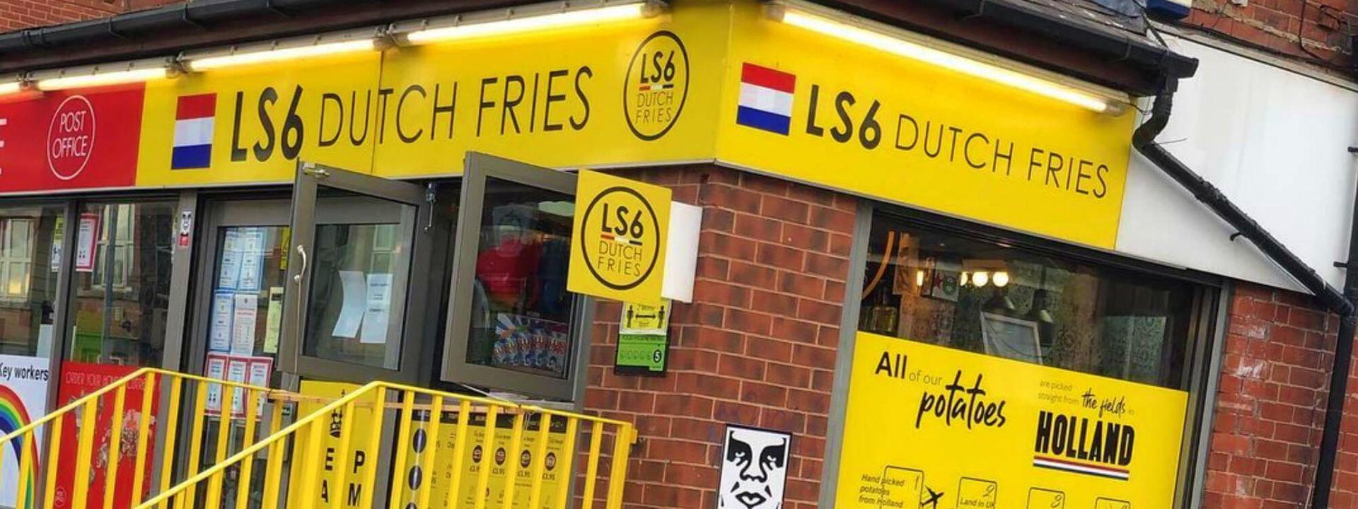 LS6 Dutch Fries Shopfront