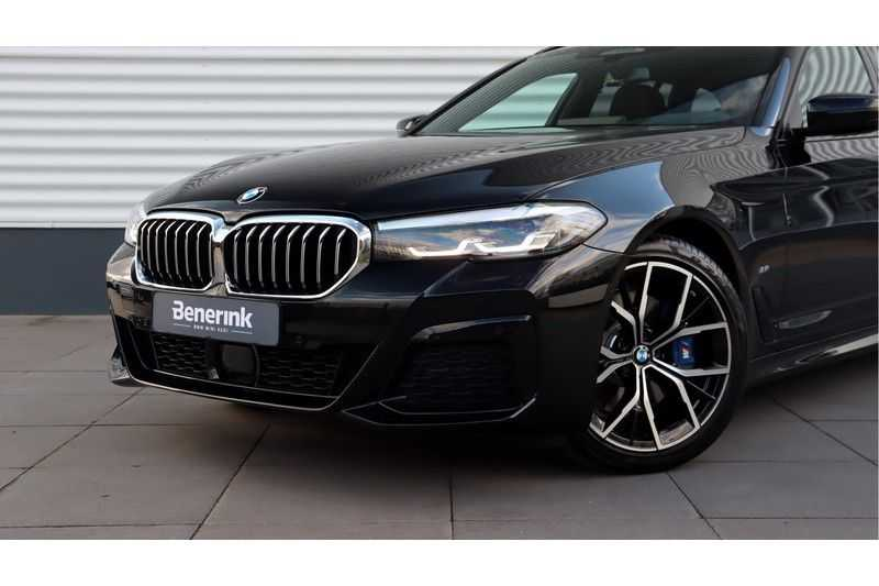 BMW 5 Serie Touring 530i High Executive M Sport Driving Assistant Prof, Head-Up Display, DAB, Memory afbeelding 19