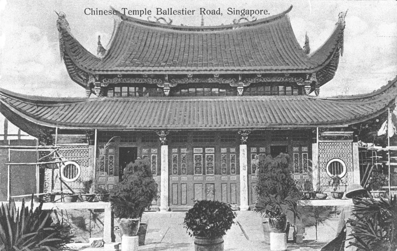 Siong Lim Temple, 1900s