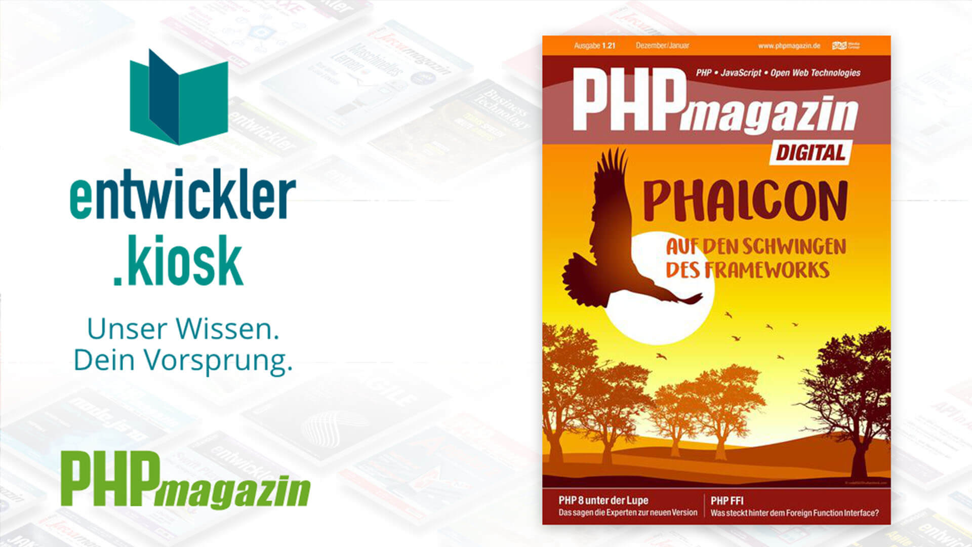 Article about Phalcon in a German magazine