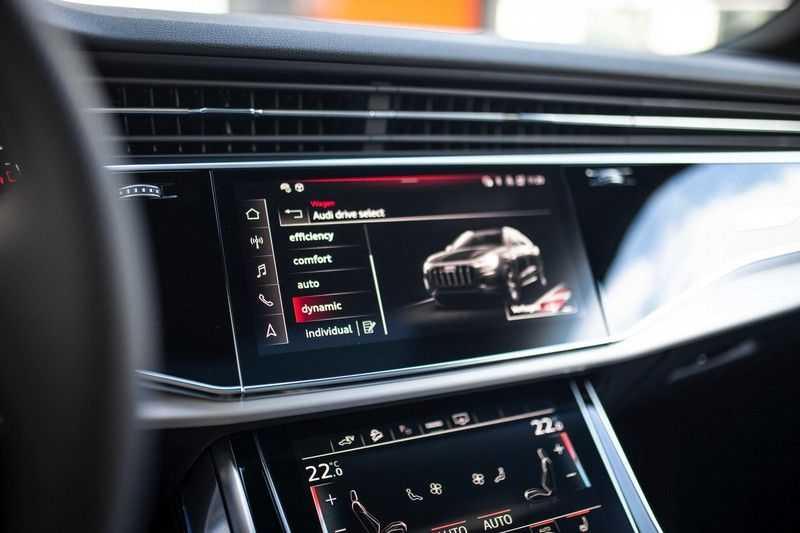 "Audi Q8 55 TFSI E Hybride Quattro *S-Line / B&O / Pano / 23"" / Black Pack / ACC* afbeelding 17"