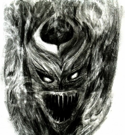 Hellish Demon Sketch