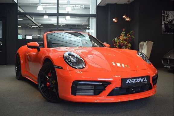 Porsche 992 Carrera S Cabrio Sport Design Pakket VOLL EUR 225.000,- nieuw Porsche Exclusive 911
