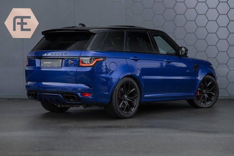 Land Rover Range Rover Sport SVR 5.0 V8 SC ESTORIL BLUE afbeelding 6