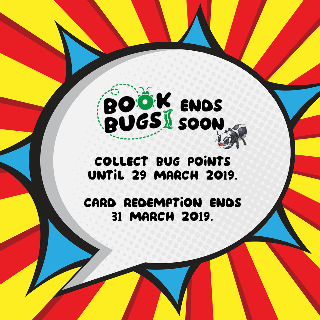Bookbug end redemption reminder