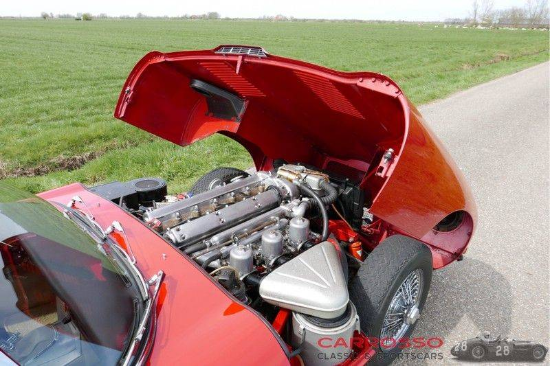 "Jaguar ""E"" TYPE G.T. 3.8 L Series 1 FHC Matching numbers FIVA ID orig. NL-Auto afbeelding 12"