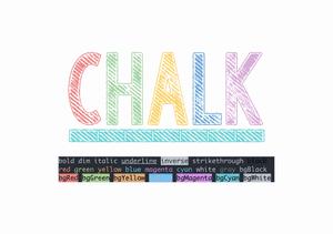 มาลองใช้งาน Chalk.js เพิ่มสีสันให้ Output ของเรากันดีกว่า