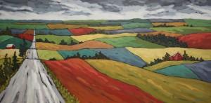 Jennifer Woodburn painting (6)