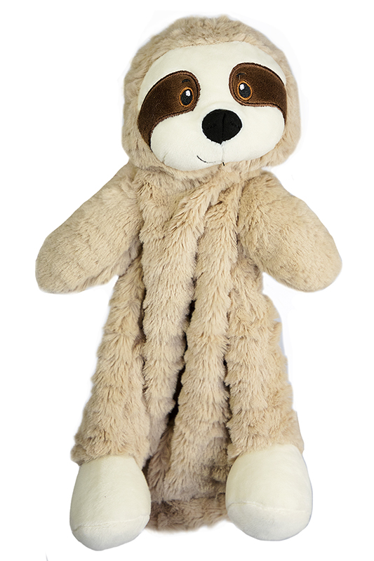 "The Petting Zoo: 12"" Snugglerz Sloth Blanket"