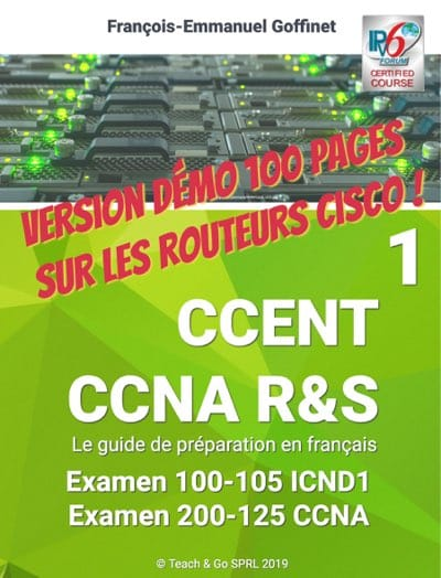PDF Guide CCNA ICND1 100-105 (ebook gratuit) en version limitée