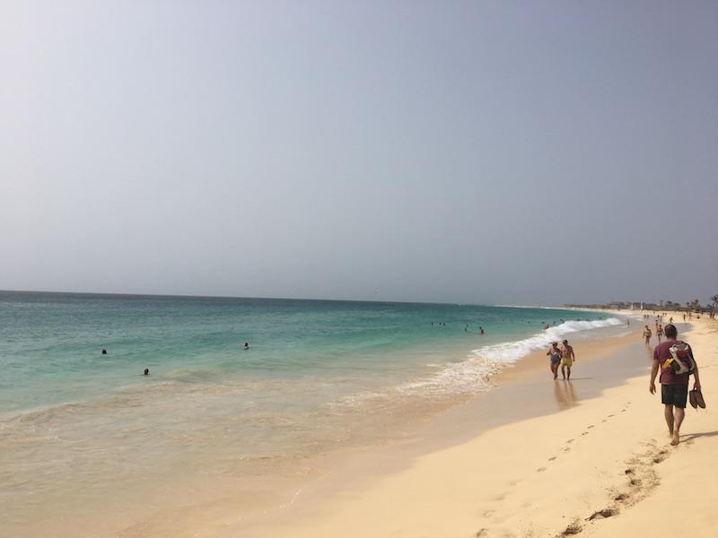 Beach in Santa Maria, Sal