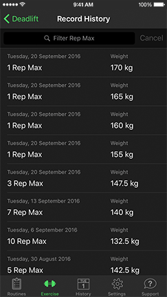 HeavySet - Workout tracker & gym log app for bodybuilding and