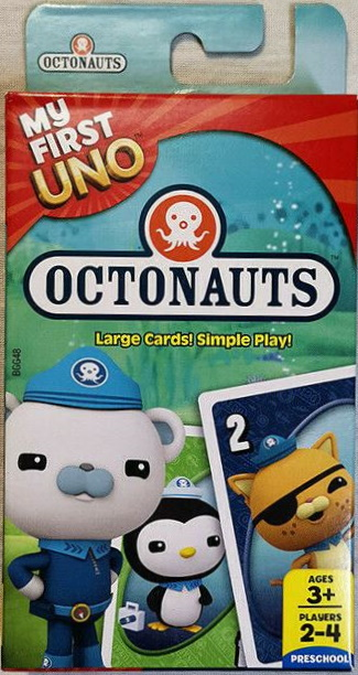 Octonauts My First Uno