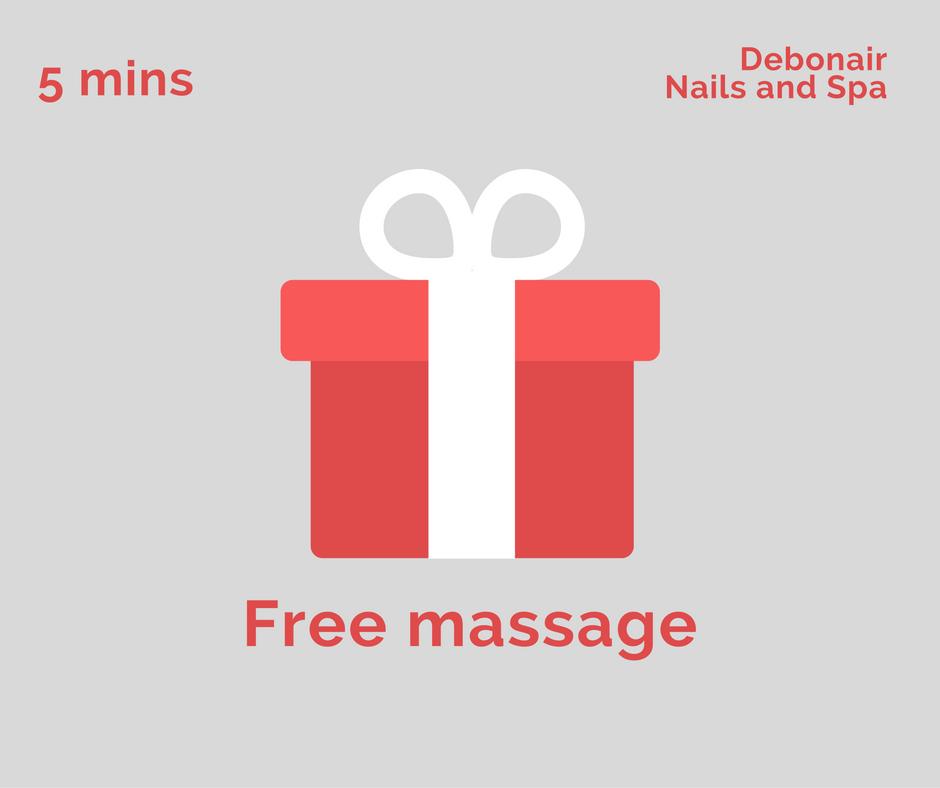 Debonair Nails and Spa promotions