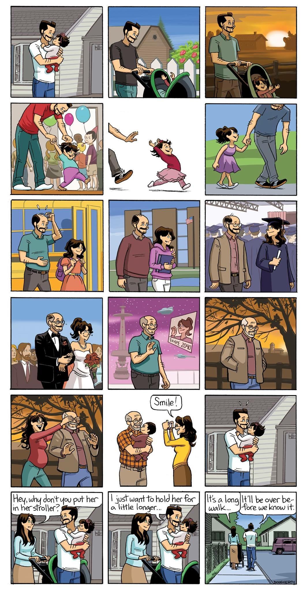 Growing Old by Beardo Comics - Dan Dougherty