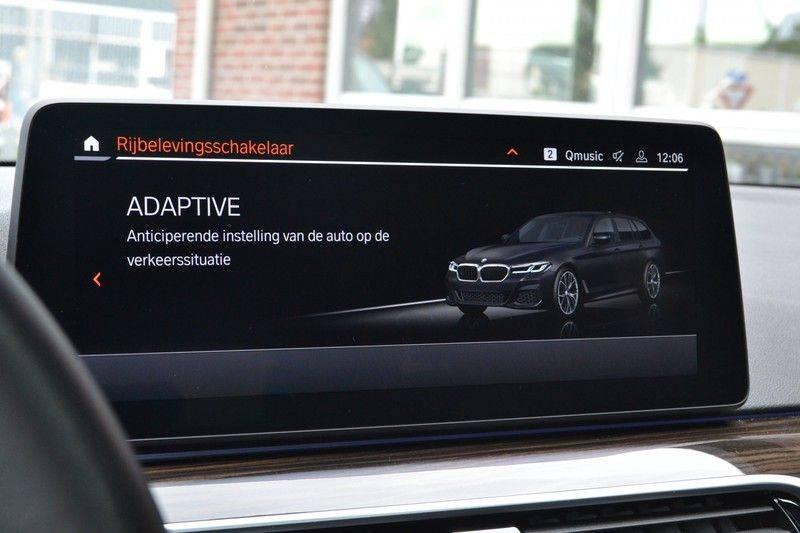 "BMW 5 Serie Touring 530d 286pk M-Sport Pano DA+ PA+ Laser 21"" Adp-drive HUD afbeelding 21"