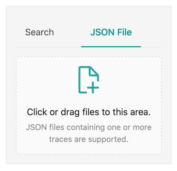 Jaeger Trace Upload JSON